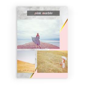 핑크마블(210x300) 4장