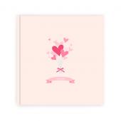 미니하트꽃다발(5.7x5.7)