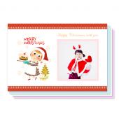 크리스마스파티(150X100) 8장세트