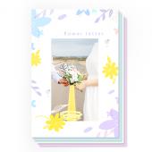 꽃편지(100X150) 8장세트