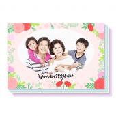 행복가족(150X100) 8장세트