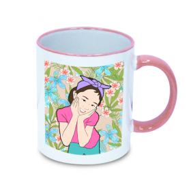 팝아트 핸드칼라머그컵